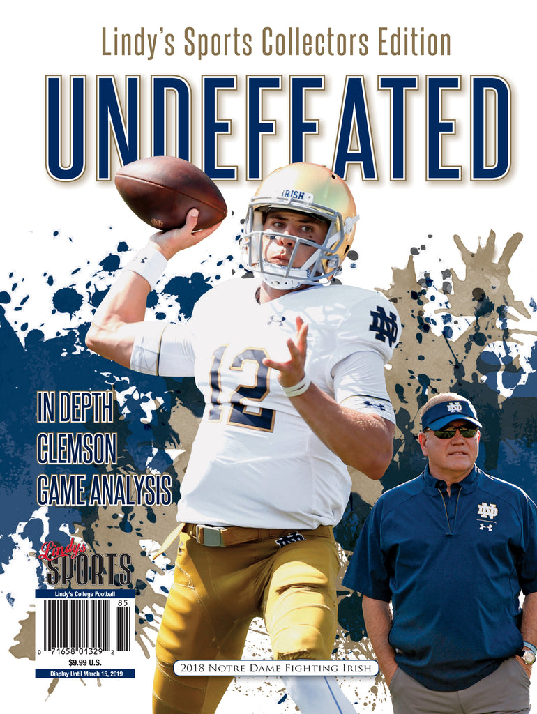 2018 Notre Dame Undefeated