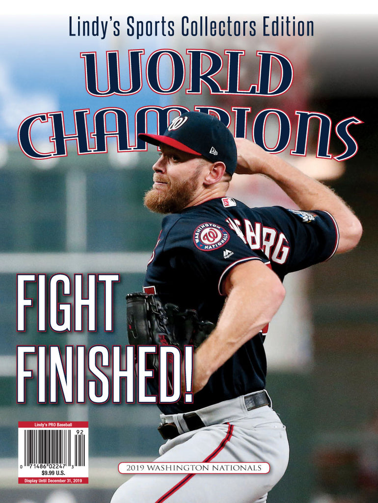 2019 Washington Nationals World Series Champions