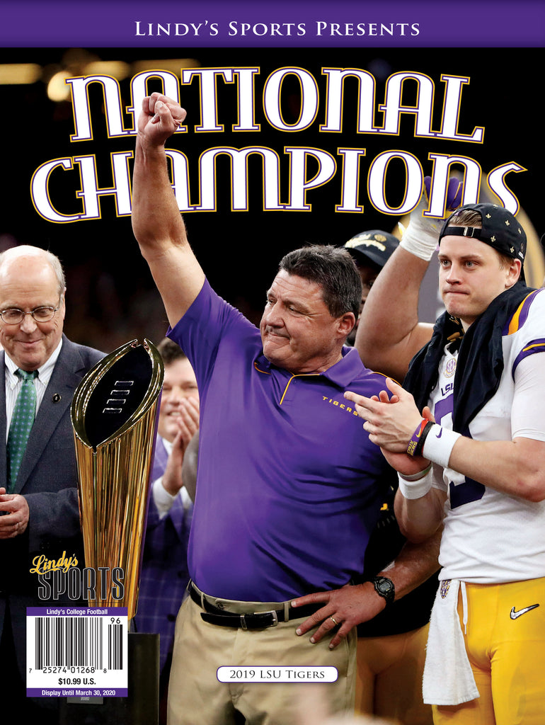 2019 LSU National Champions