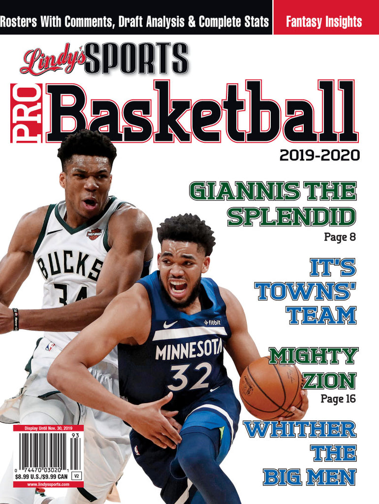 Pro Basketball/Milwaukee/Minnesota Cover