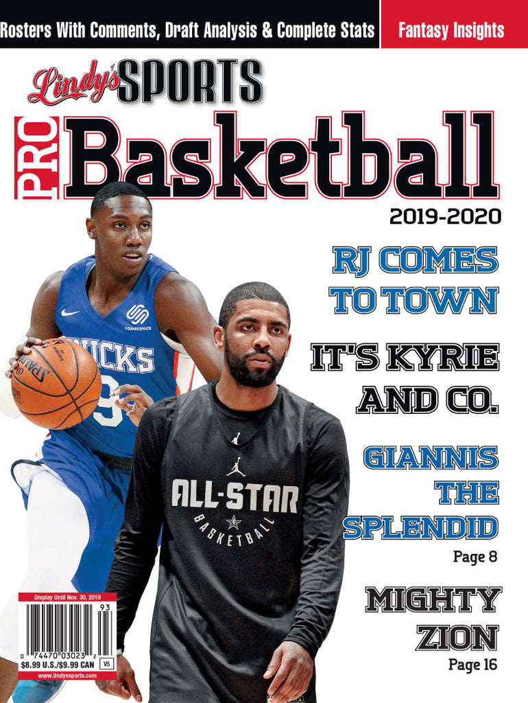 Pro Basketball/N.Y. Knicks/Brooklyn Nets Cover