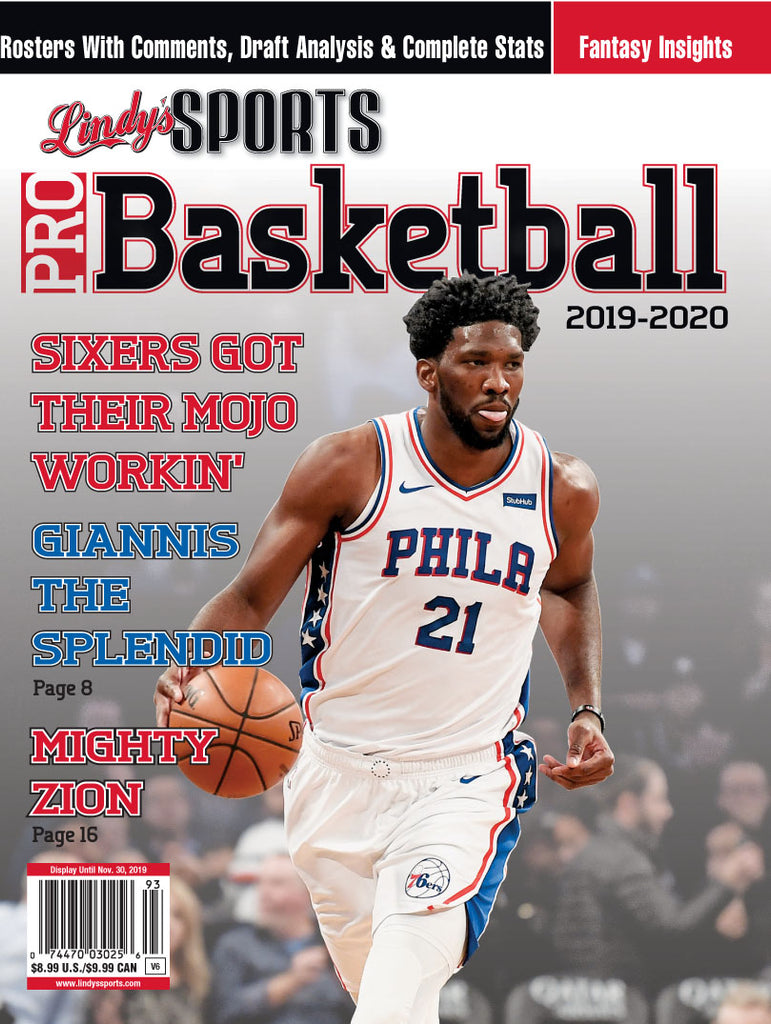Pro Basketball/Philadelphia Cover
