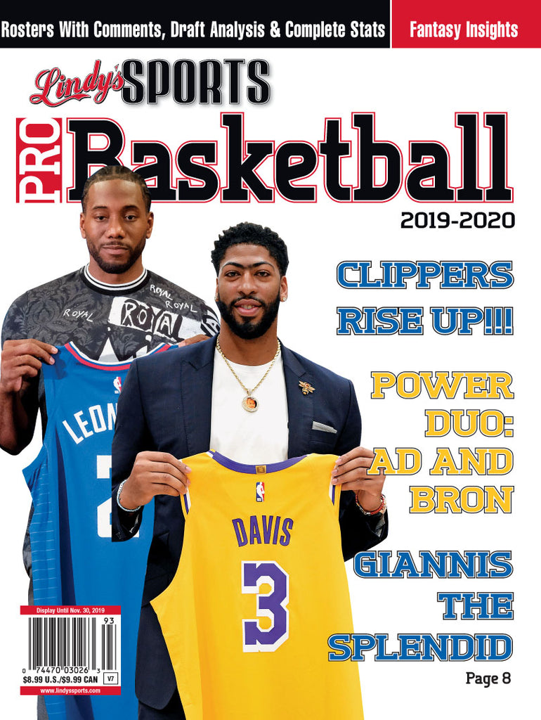 Pro Basketball/L.A. Clippers/Lakers Cover