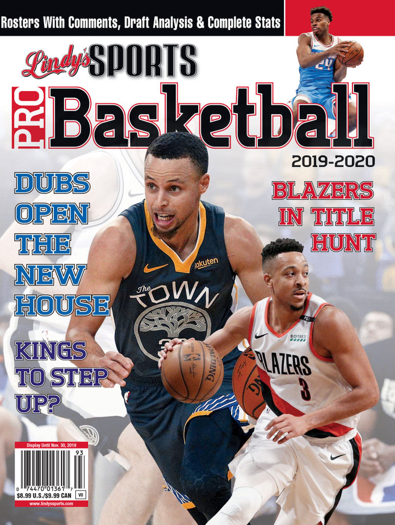 Pro Basketball/Golden State/Portland Cover