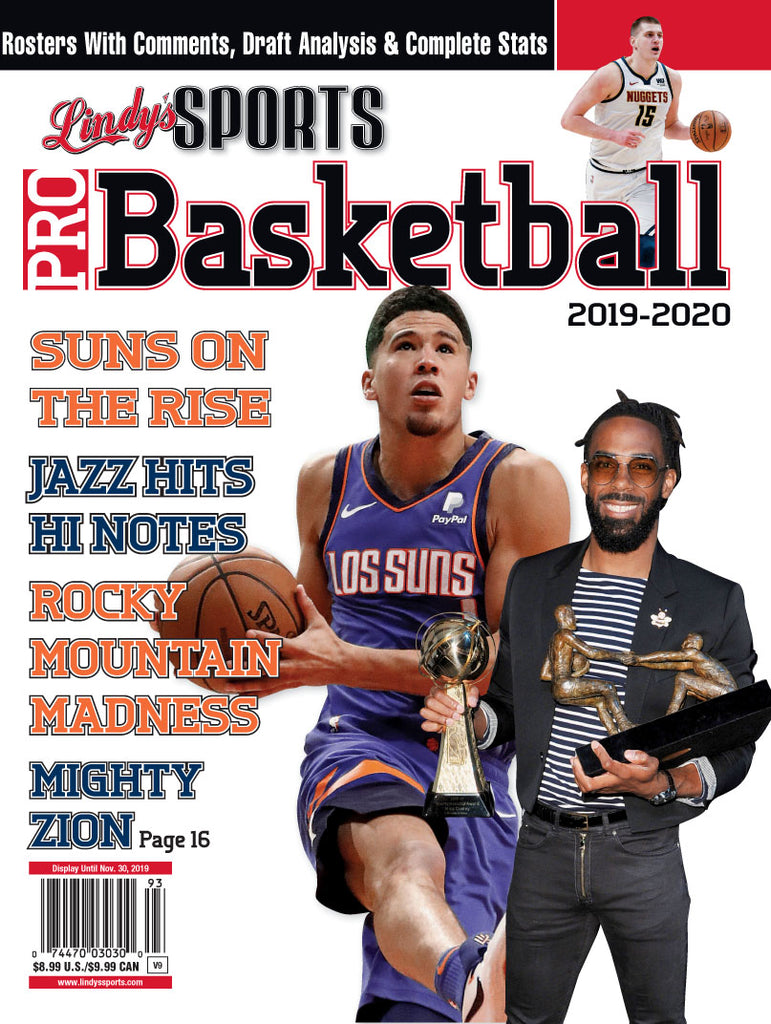 Pro Basketball/Suns/Jazz/Nuggets Cover