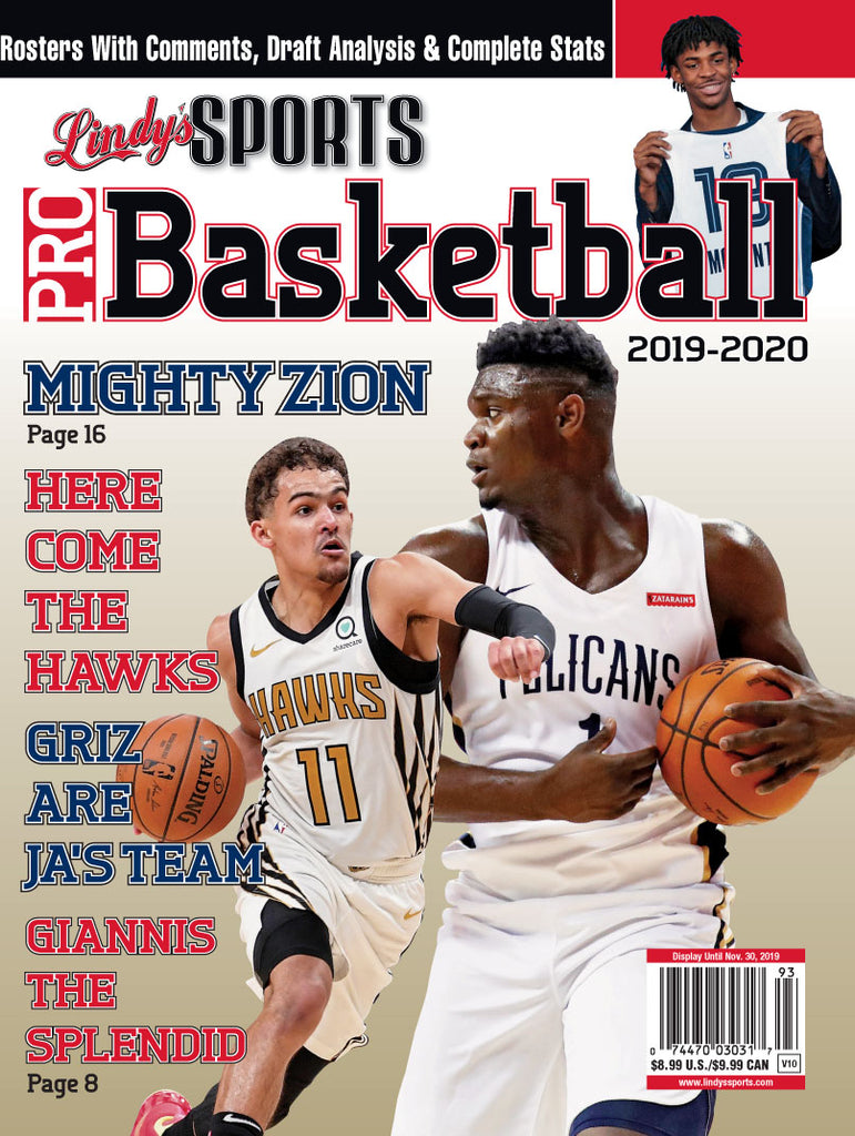 Pro Basketball/Pelicans/Hawks/Grizzlies Cover