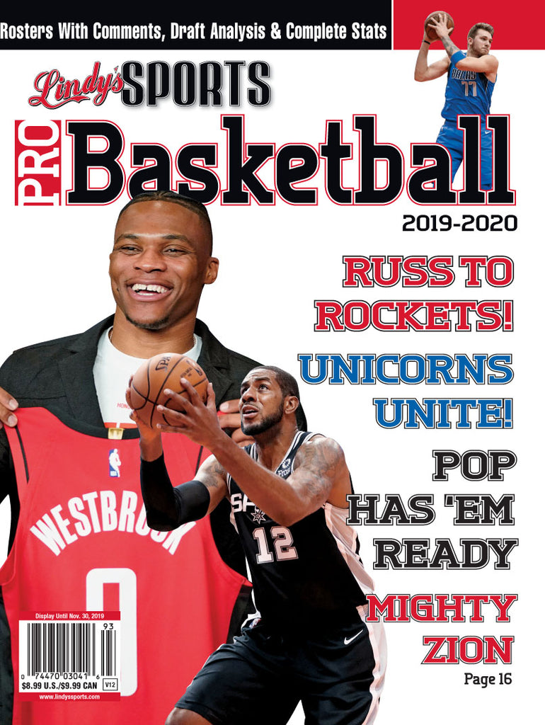 Pro Basketball/Rockets/Mavericks/Spurs Cover