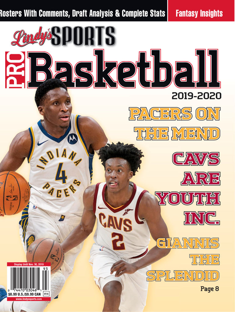Pro Basketball/Cavaliers/Pacers Cover