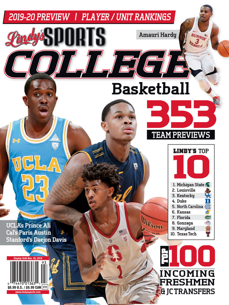 2019-20 College Basketball / UCLA/Stanford/Cal/UNLV