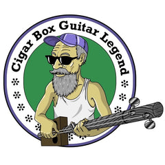 Cigar Box  Guitar Legend