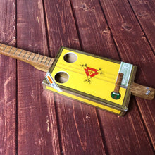 "Load image into Gallery viewer, 3 String Cigar Box Guitar - ""Montecristo"" - cbg open g tuning"