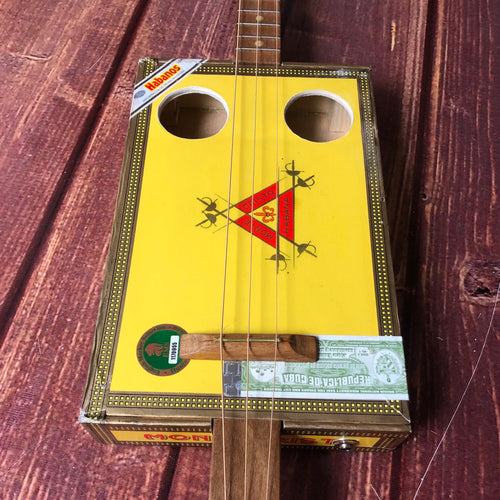 3 String Cigar Box Guitar -