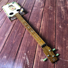 "Load image into Gallery viewer, 3 String Cigar Box Guitar - ""Romeo and Juliet"" - pixomanic"