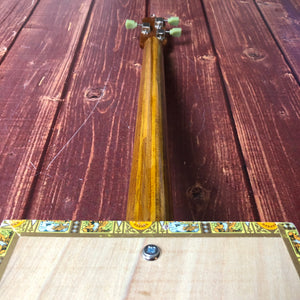 "3 String Cigar Box Guitar - ""Romeo and Juliet"" - pixomanic"
