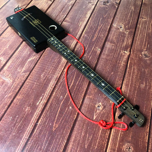 "3 String Cigar Box Guitar - ""Carrillo"" - open g tuning"