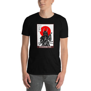 3 String Samurai - Short-Sleeve Unisex T-Shirt