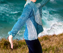 Alpaca Wrap Knit Sweater