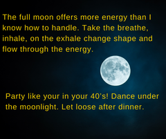 Full Moon Martini Yoga Party Ticket & Details