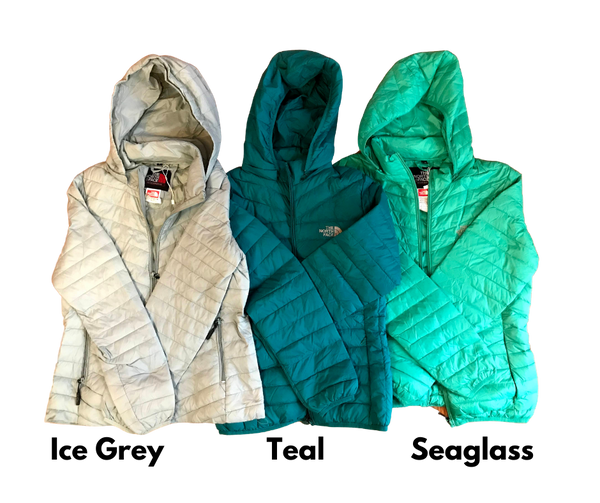 Nano Puffy Sweater Jacket with Hood and Zip Pockets Women's