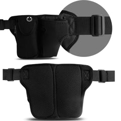 Running Belt Adjustable Waist Pack with Bottle Holder