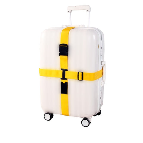 Packing Belt Adjustable Travel Trolley Suitcase