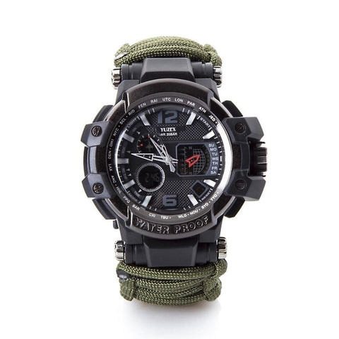 Survival Watch Bracelet Waterproof 50M