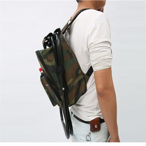 Image of Backpack Chair with Cooler Bag