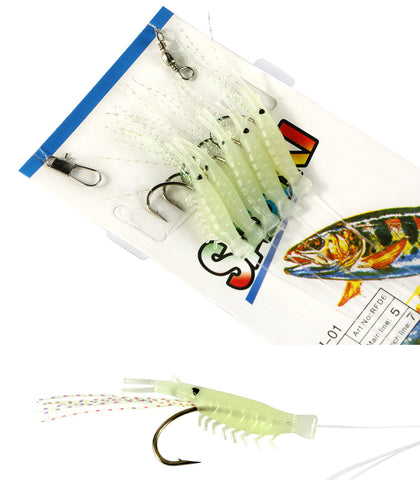 Luminous Shrimp Fishing Lure