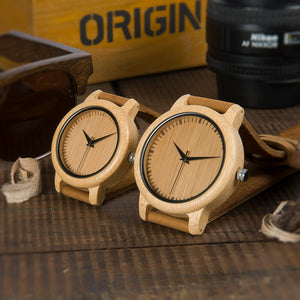 Bamboo Watches