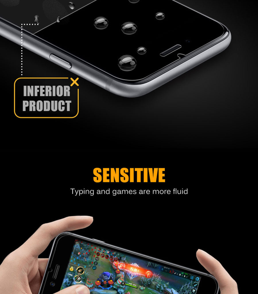 Privacy Protection Tempered Glass