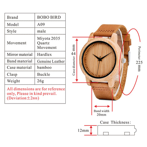 Image of Bamboo Watches
