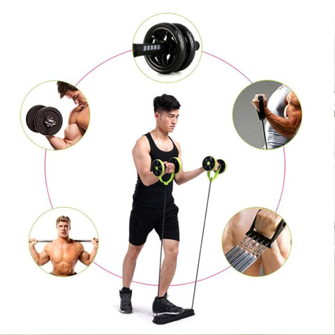 Image of Ab Roller Wheel Workout Trainer