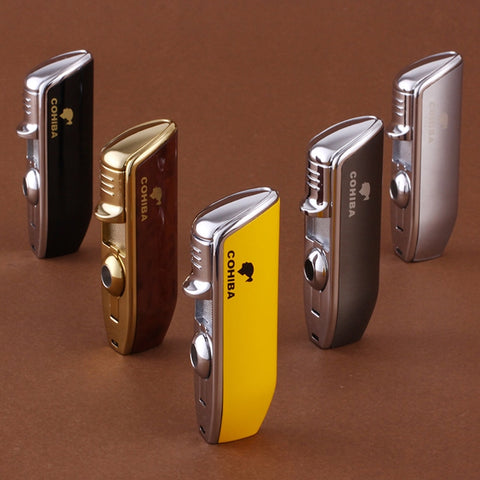 High Quality Cigar Torch Lighter with Punch