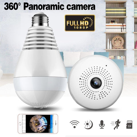 Light Bulb Panoramic Camera