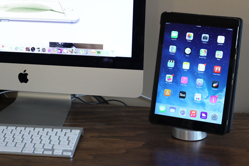 iPad Air Dock Silver