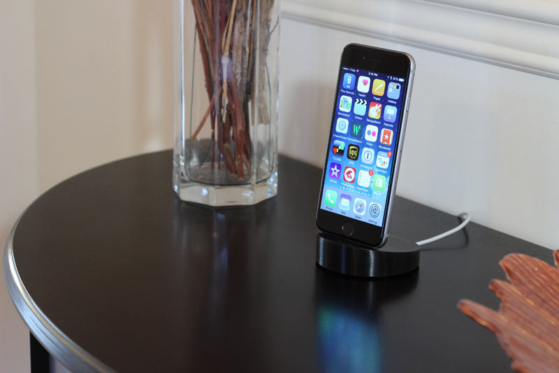 iPhone Dock Black