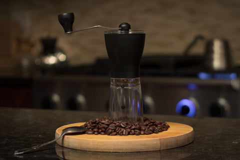 Hario Pourover V60 Kit (Dripper, Server & Filters) & Hario Mini Mill Grinder
