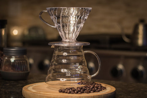 V60 Range Server with the V60 Clear Dripper