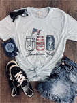 American Girl Graphic Tee