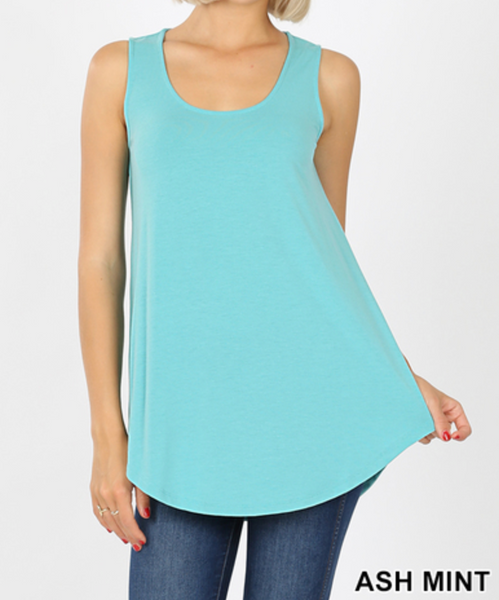 Cool as a Cucumber Tank - Ash Mint