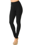 "Everyday Black 3"" Yoga Band Leggings"
