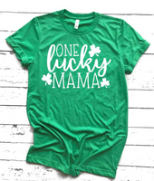 One Lucky Mama Graphic T