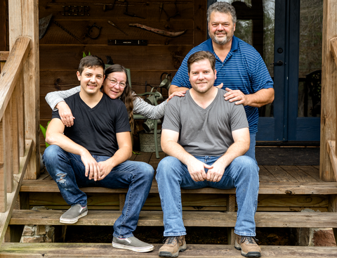 The Bostic Family - At The Land - Louisiana Handmade Home Goods