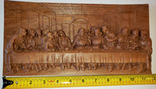 "Load image into Gallery viewer, The Last Supper - Cherry, 11"" by 5.5"""