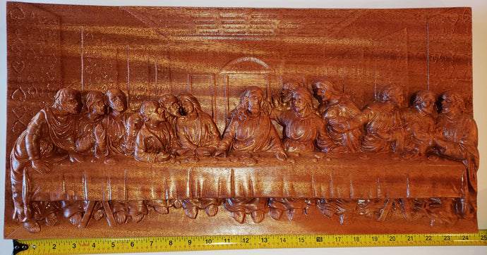 The Last Supper - African Mahogany, 24