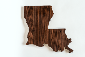 I Love My State Cutting Board