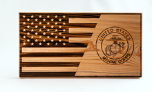 "Load image into Gallery viewer, Celebrate Our Armed Forces Plaque - 14"" by 8"""