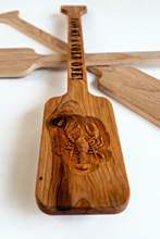 Load image into Gallery viewer, Custom Crawfish Boil Paddle - Reclaimed Cypress
