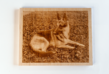 Load image into Gallery viewer, Your Pet Here! Custom Laser-Cut Pet Portrait