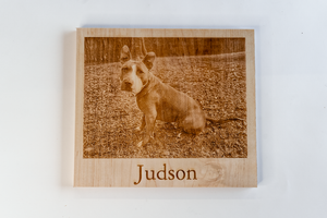 Your Pet Here! Custom Laser-Cut Pet Portrait